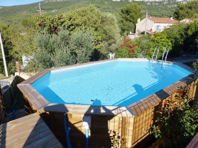 piscine hors sol 6mX 3m